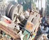 مستونگ: باراتیوں کی کوچ الٹ گئی، عورت اور بچی جاں بحق، 22 زخمی، 11 کی حالت تشویشناک