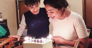 Mahira Khan's birth day celebrations on 21st December