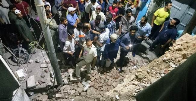 "Ahmadi worship place demolished by ""organised religious groups"" in Sialkot"