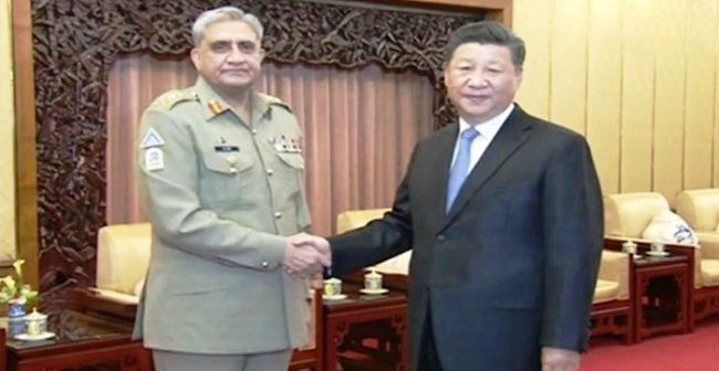 Gen Bajwa meets Chinese president, discusses regional security challenges