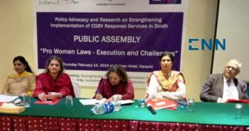 Stakeholders role in implementation of pro-women laws stressed